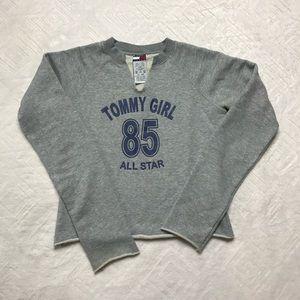 Long Sleeve Tommy Girl Sweatshirt